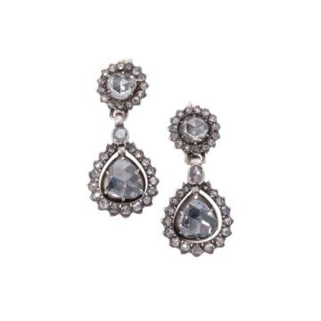 Roosdiamant earrings 19th century 1