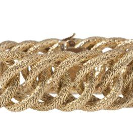 hermès woven bracelet 1970s