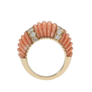 Cartier coral ring 1970s