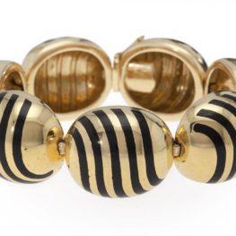 Cartier enamel bracelet 1960s