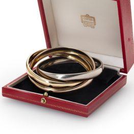 Cartier 'Trinity' bracelet 1973