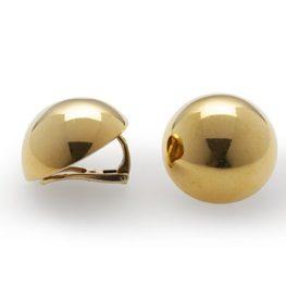 Cartier sphere clip earrings 1975