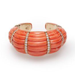 david webb coral bracelet ca 1980
