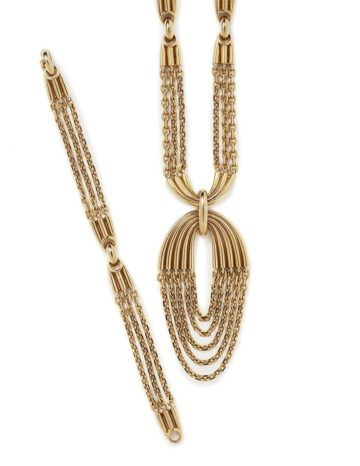 van cleef arpels necklace bracelet pendant 1970s