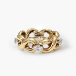 Flexible golden ring