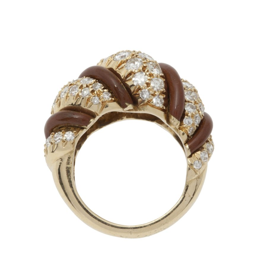 ring christian dior 1980s