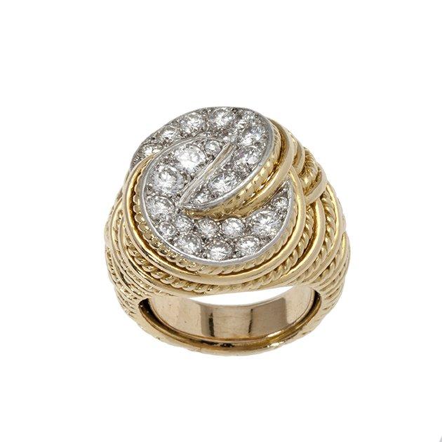 ring cartier diamond 1970s