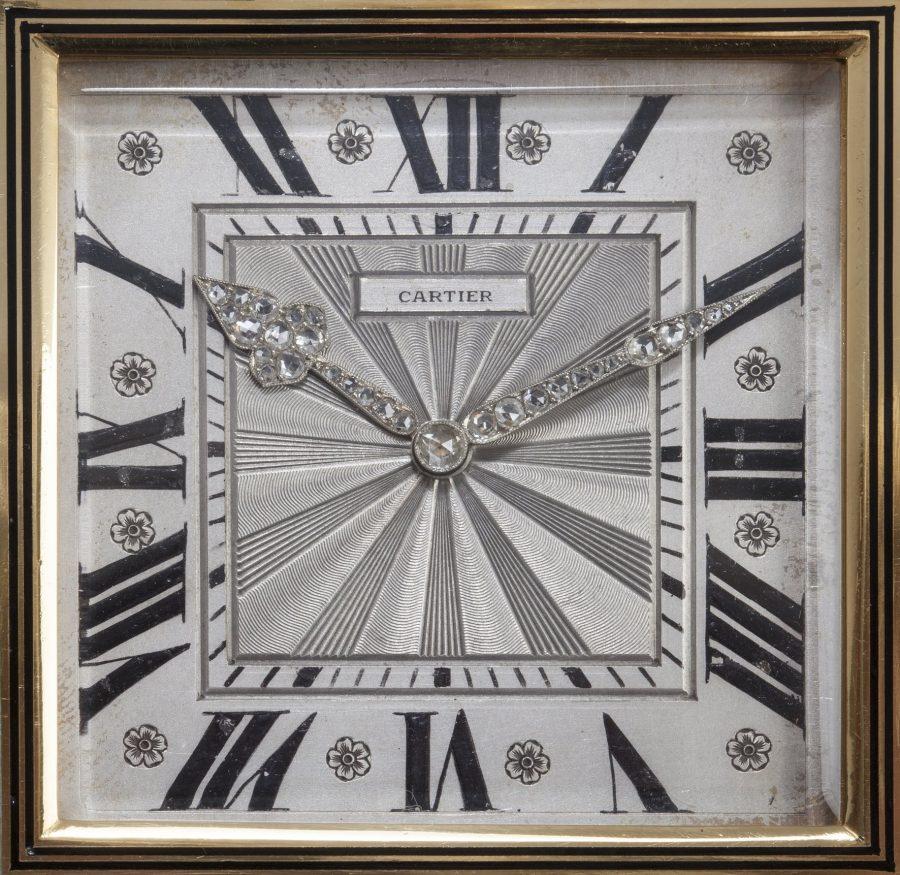 Cartier Art Deco bureauklok 1920