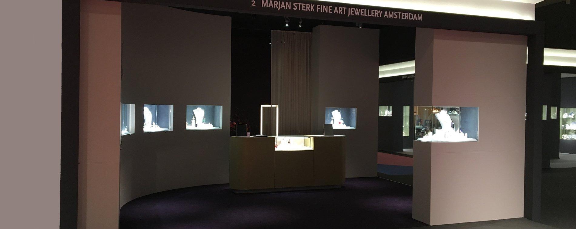 marjan sterk fine art jewellery pan amsterdam antiques show