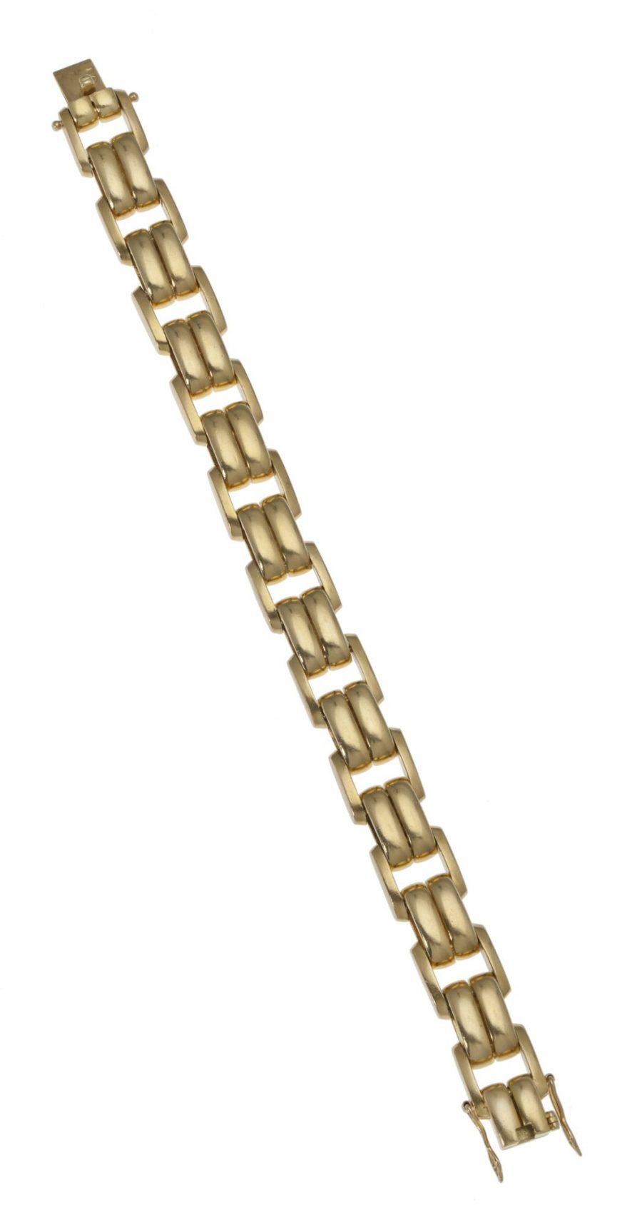 Cartier golden bracelet