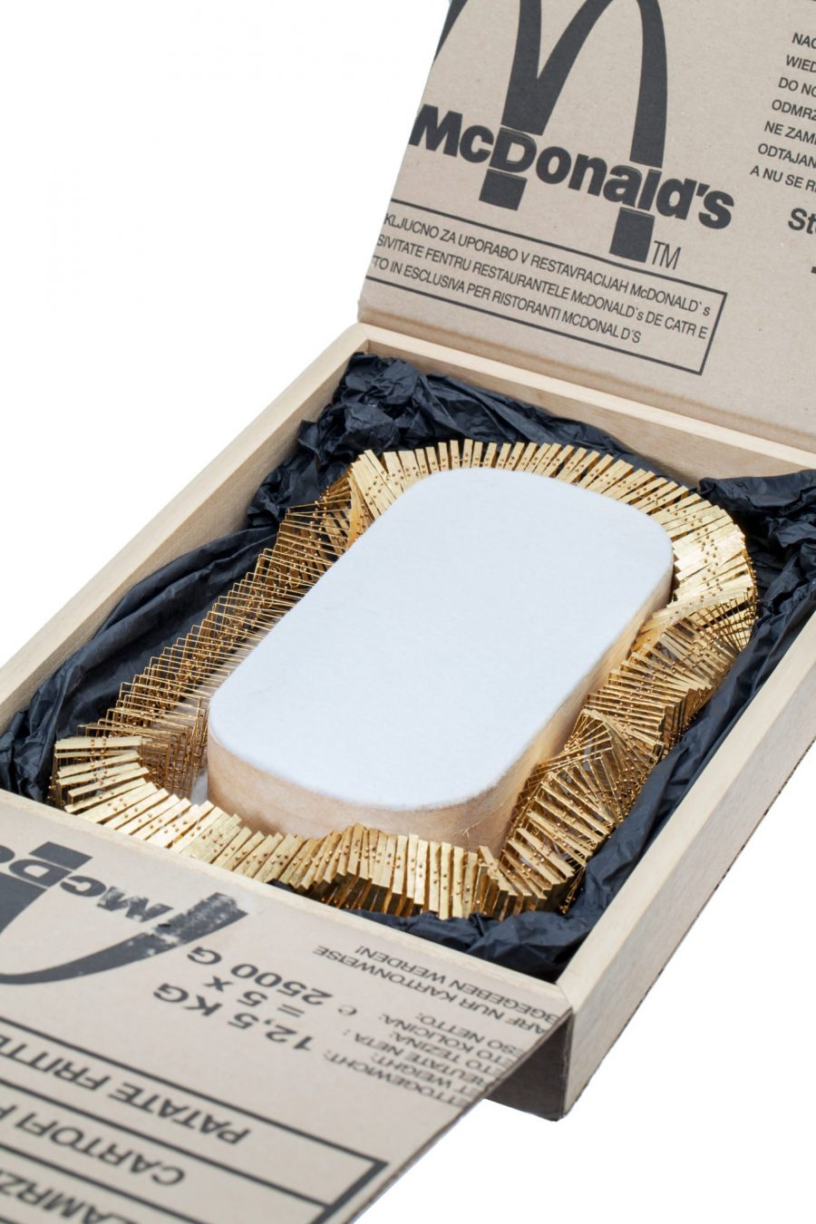Francesco Pavan gold necklace 2015