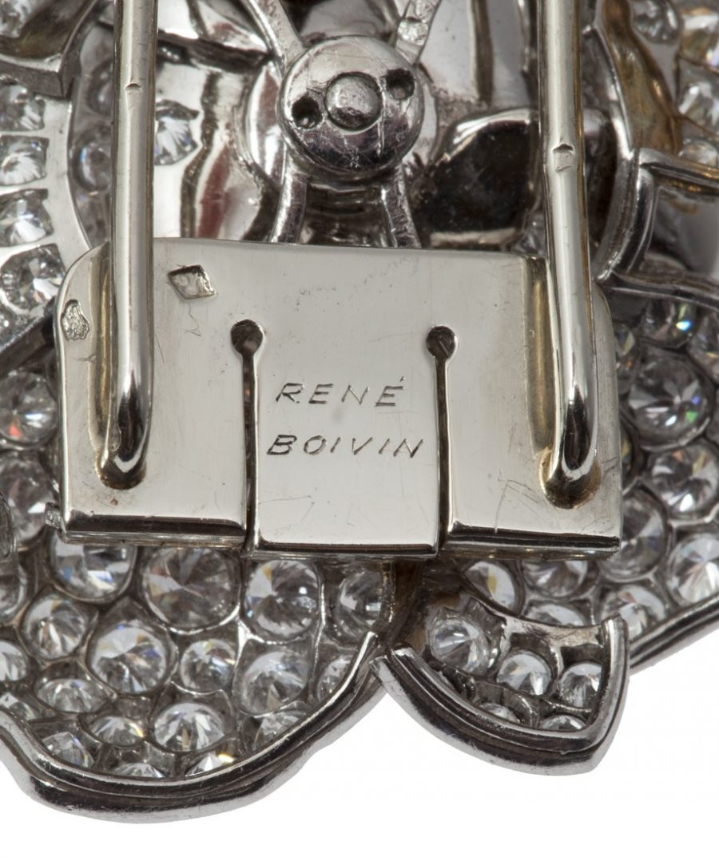 René Boivin Gardenia brooch