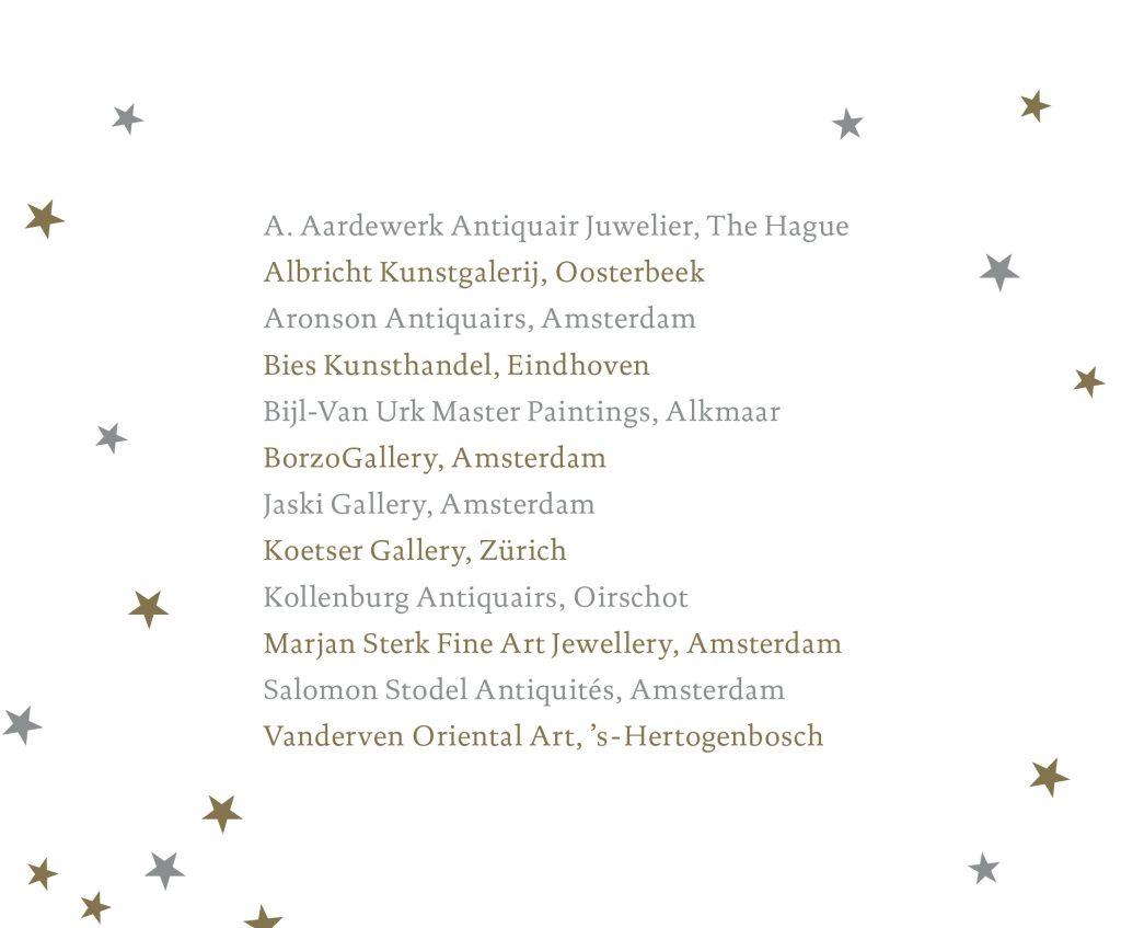 art affair amsterdam hilton hotel exhibitors