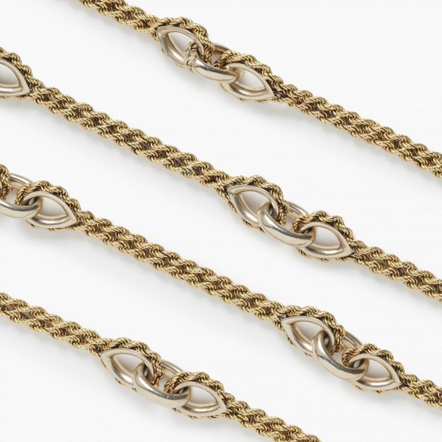 Cartier woven longchain Paris